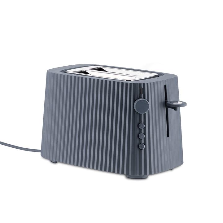 Der Plissé Toaster, grau von Alessi