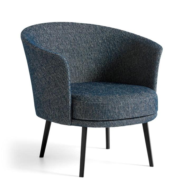 Der Dorso Sessel, pulverbeschichteter Stahl, Fairway dunkelblau (308-288) von Hay