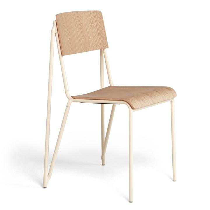 Der Petit Standard Stuhl, pearl / Eiche matt lackiert von Hay