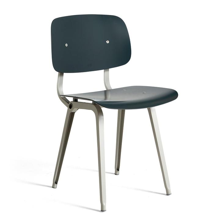 Der Revolt Chair, beige / granitgrau von Hay