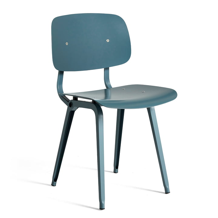 Der Revolt Chair, ocean / ocean von Hay