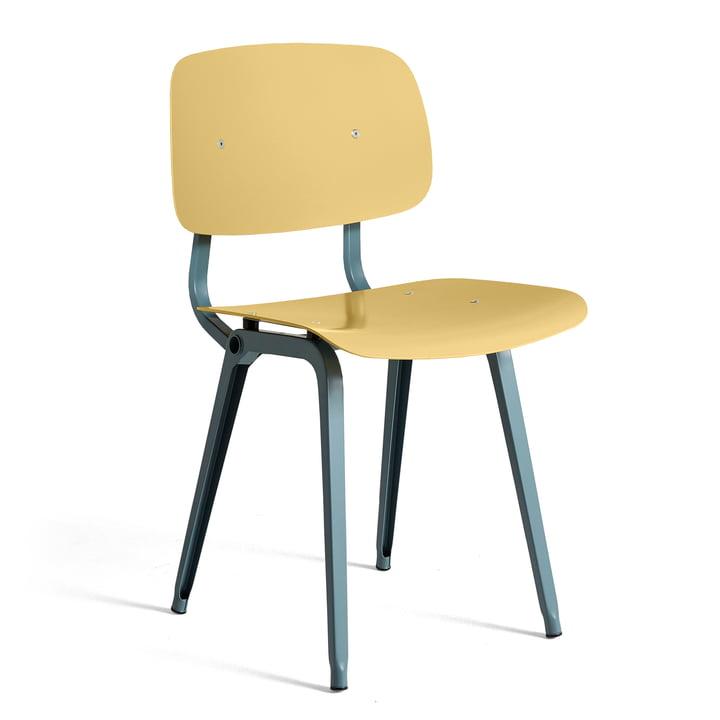 Der Revolt Chair, ocean / biscotti von Hay