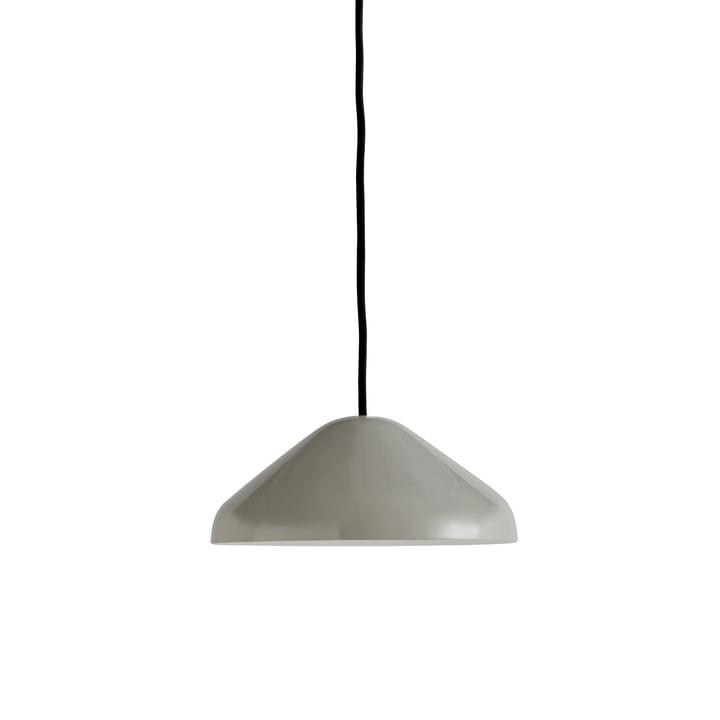 Die Pao Steel Pendelleuchte, Ø 23 x H 10 cm, cool grey von Hay