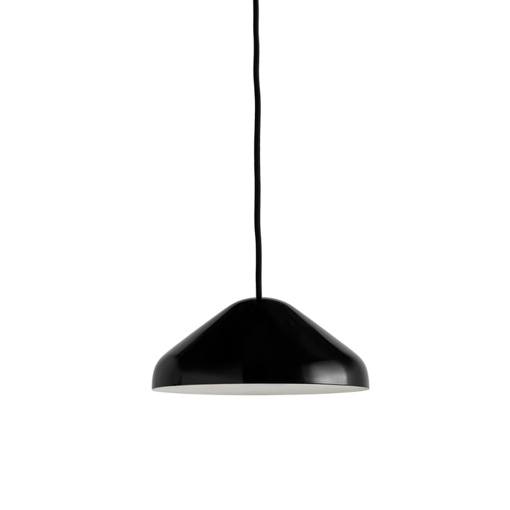 Die Pao Steel Pendelleuchte, Ø 23 x H 10 cm, schwarz von Hay