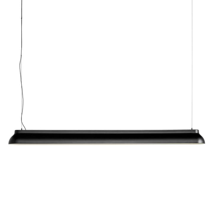 Der PC Linear Stab-Pendelleuchte, soft black von Hay
