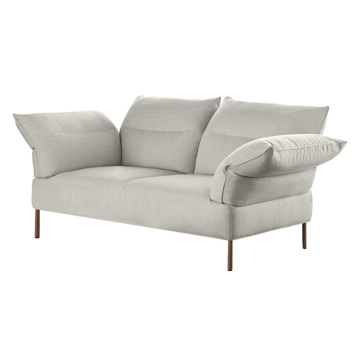 Das Pandarine Sofa, 3-Sitzer, verstellbare Armlehnen, Walnuss geölt, Mode 9 von Hay