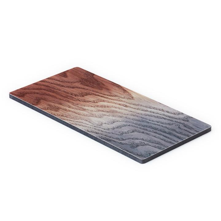 Das A Tribute to Wood Tapas Board small, braun / grau von applicata