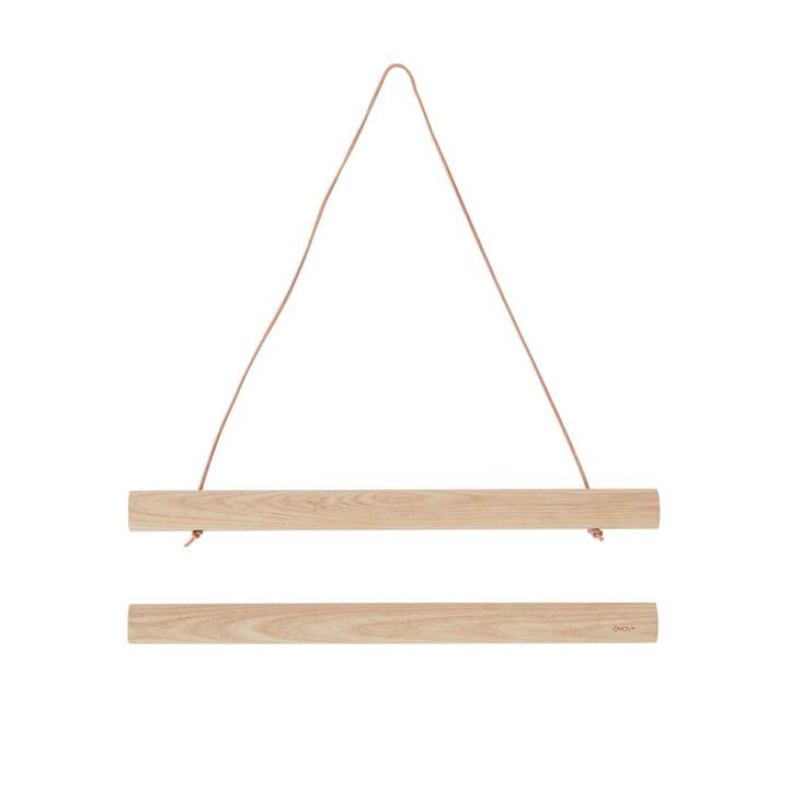Die Bilderleisten Holz, 33 cm, Esche von OYOY
