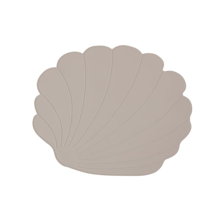 Das Muschel Tischset, clay von OYOY