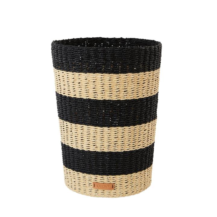Der Gomi Papierkorb, natur von OYOY