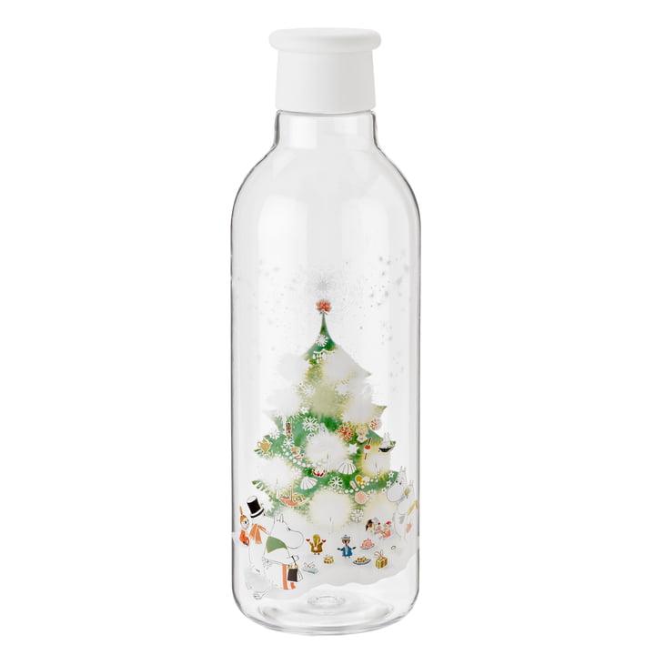Rig-Tig by Stelton - Drink-It Moomin Wasserflasche 0.75 l, weiß