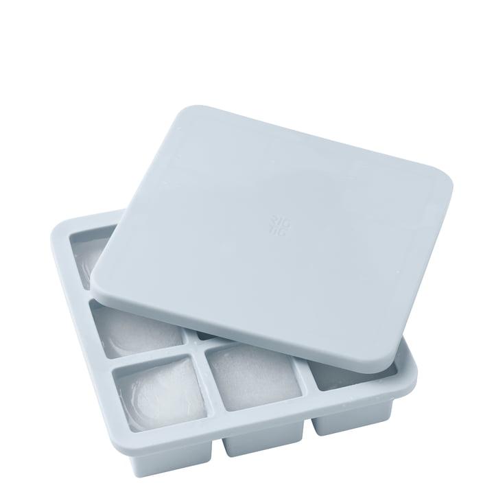Der Freeze-It Eiswürfelbereiter mit Deckel groß, hellblau von Rig-Tig by Stelton