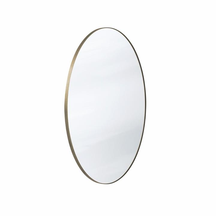 Der Amore Spiegel SC56 Ø70 cm, bronze / silber von &tradition