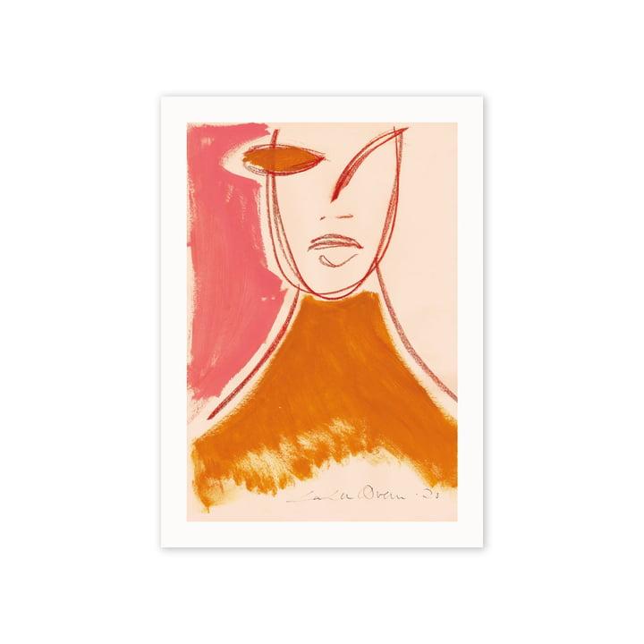 Das Pink Portrait Poster, 50 x 70 cm von Paper Collective