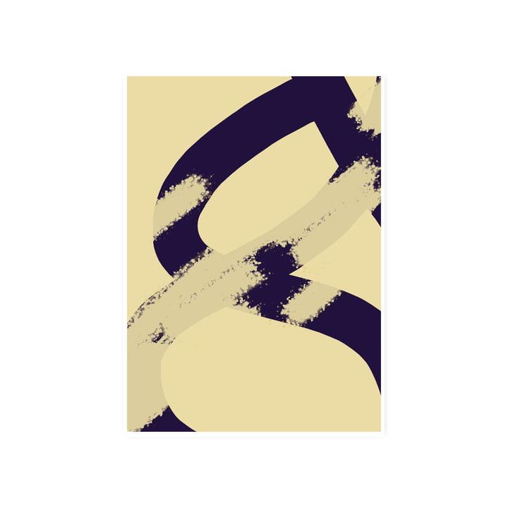 Das Ink Grain 02 Poster, 50 x 70 cm von Paper Collective
