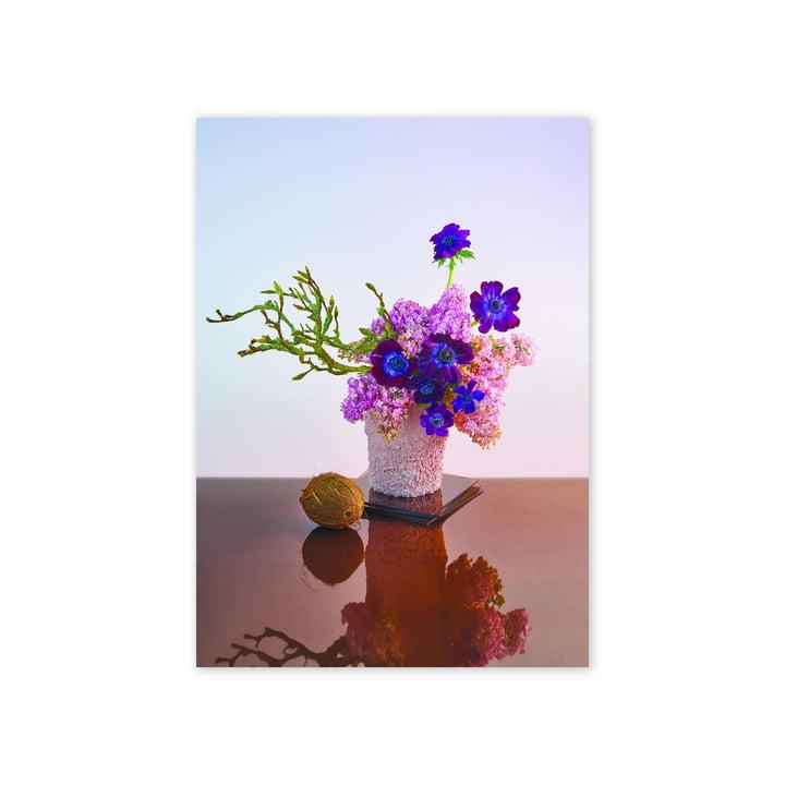 Das BLOOM 01 Amber Poster, 50 x 70 cm von Paper Collective