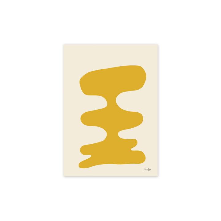 Das Soft Yellow Poster, 30 x 40 cm von Paper Collective