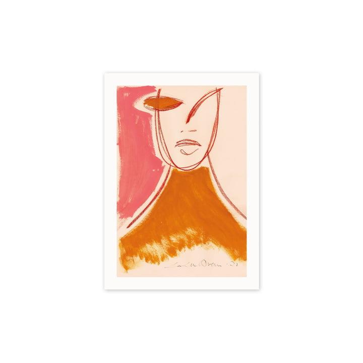 Das Pink Portrait Poster, 30 x 40 cm von Paper Collective