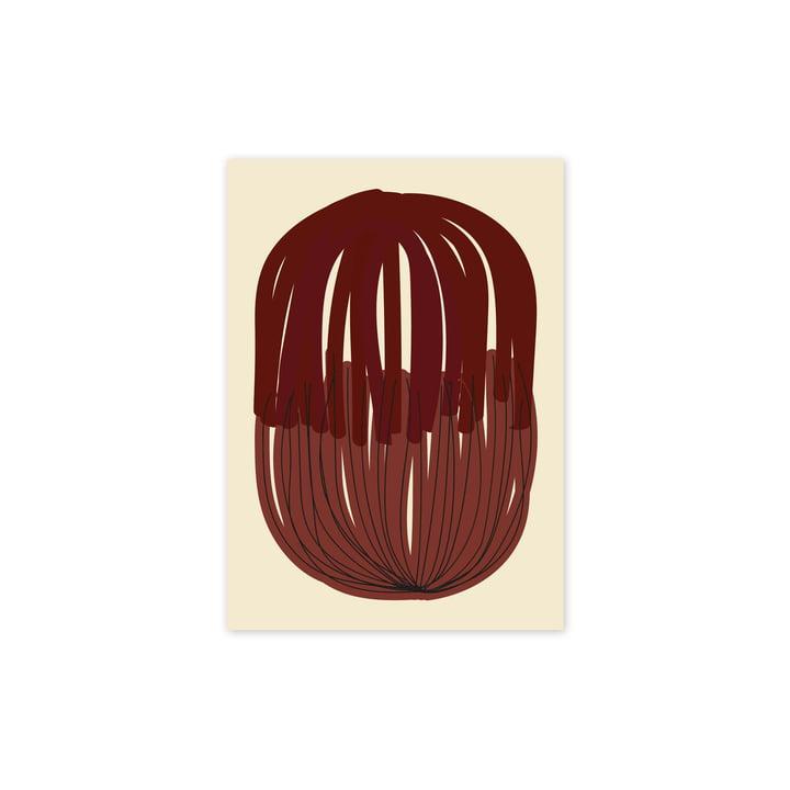 Das Stacked Lines 01 Poster, 30 x 40 cm von Paper Collective