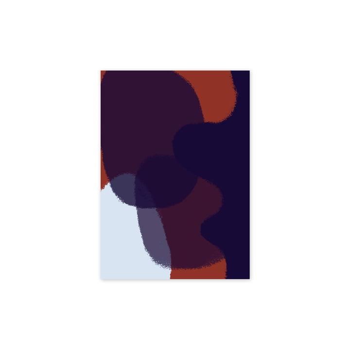 Das Ink Grain 03 Poster, 30 x 40 cm von Paper Collective