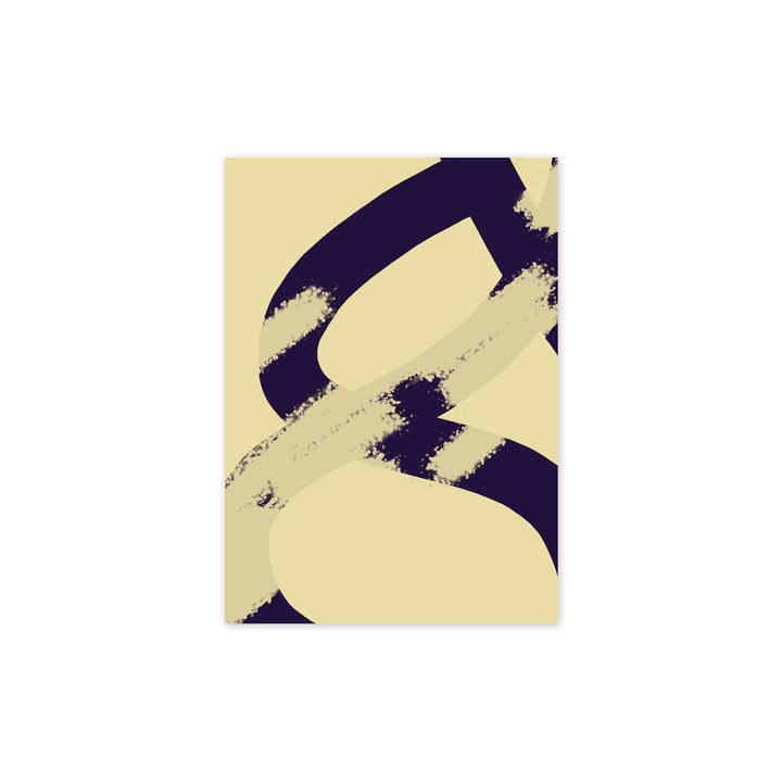 Das Ink Grain 02 Poster, 30 x 40 cm von Paper Collective
