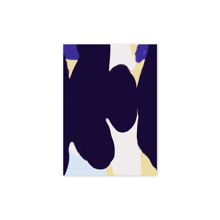 Das Ink Grain 01 Poster, 30 x 40 cm von Paper Collective
