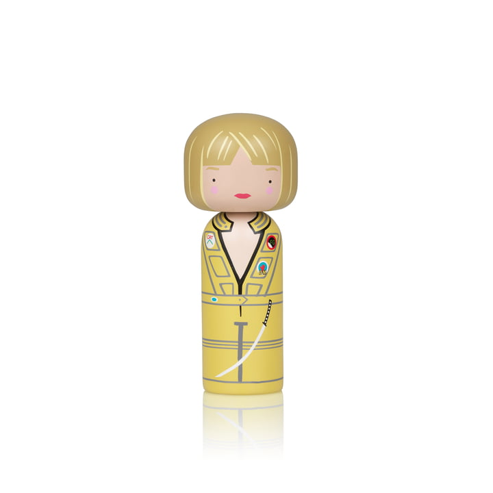 Die Sketch Inc. Holzfigur H 14,5 cm, Kill Bill The Bride von Lucie Kaas