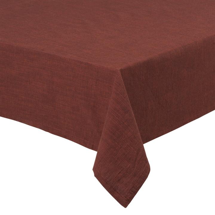 Basic Baumwoll-Tischdecke, chocolate von Juna