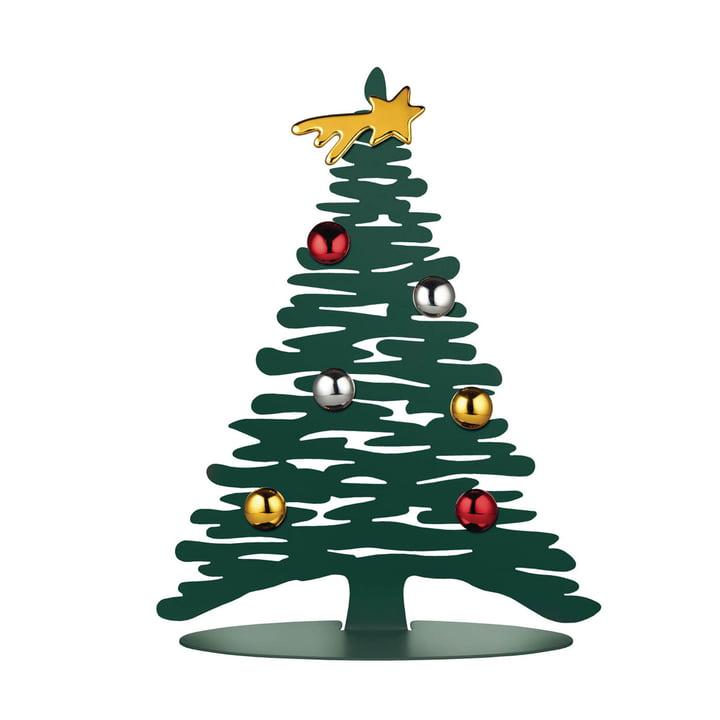 Der Bark for Christmas H 30 cm, grün von Alessi