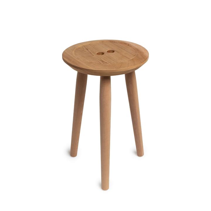 Der Button Hocker, Eiche / Red Cedar von We Do Wood