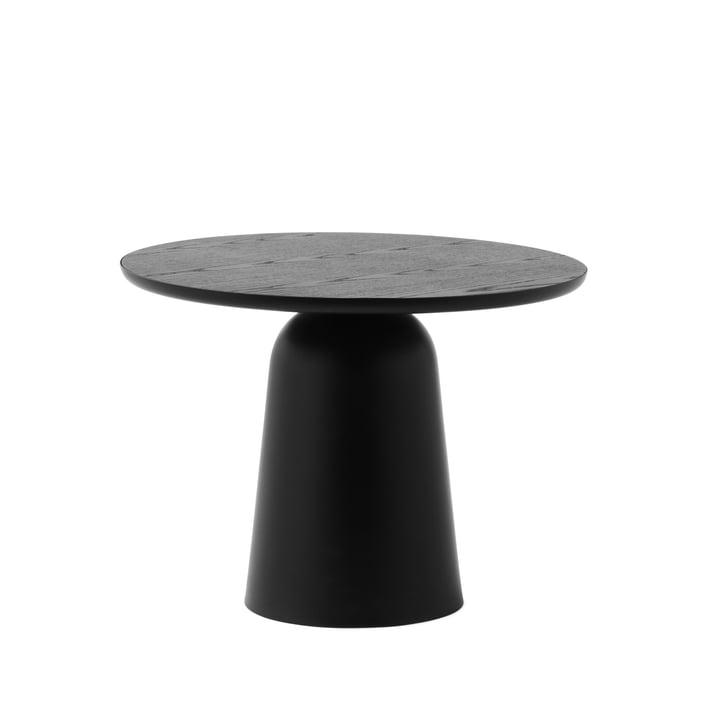 Der Turn Couchtisch Ø 55 cm, schwarz von Normann Copenhagen