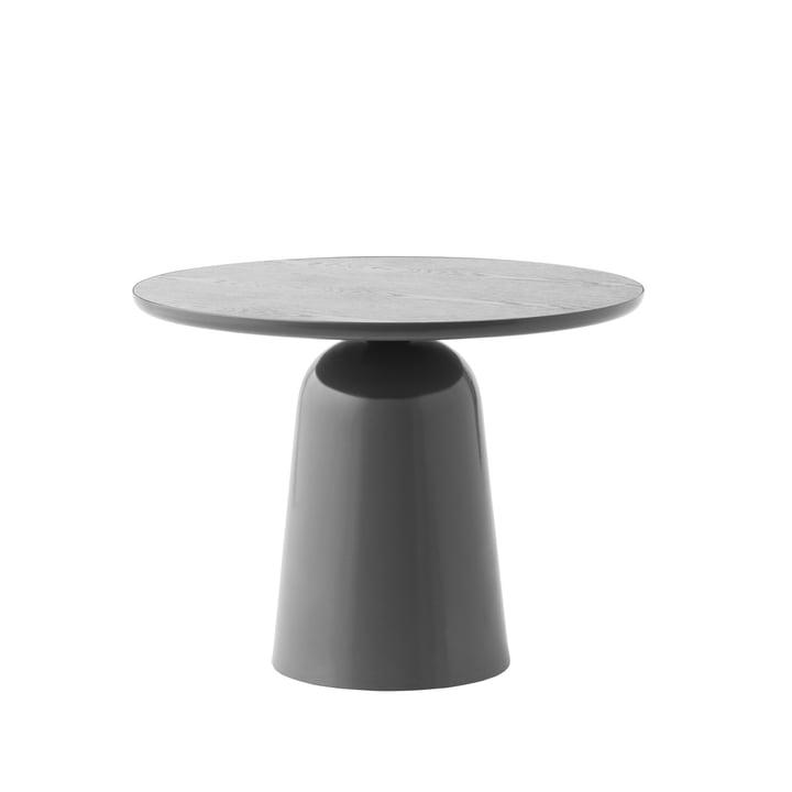 Der Turn Couchtisch Ø 55 cm, grau von Normann Copenhagen