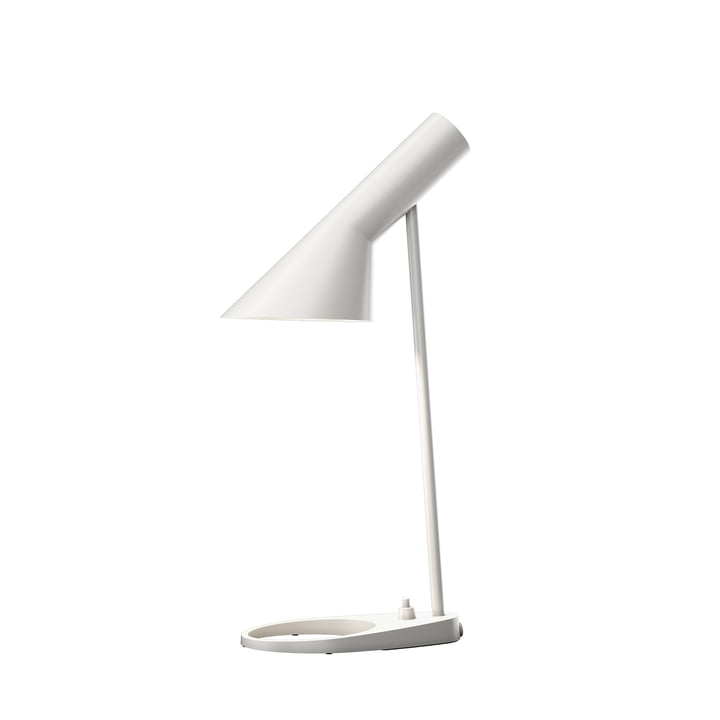 AJ Mini Tischleuchte von Louis Poulsen in weiß