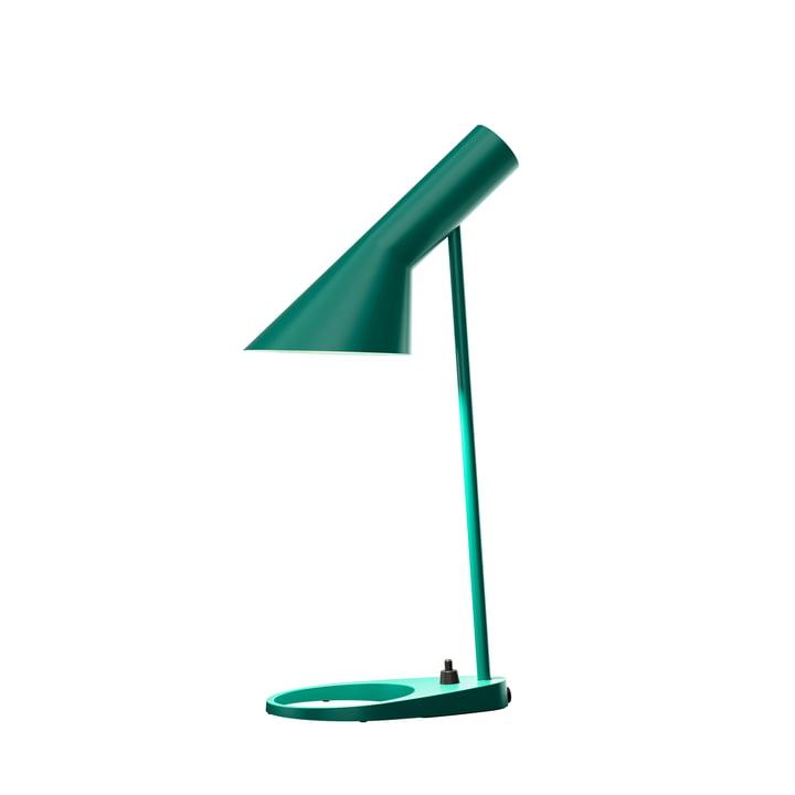 AJ Mini Tischleuchte von Louis Poulsen in dunkelgrün