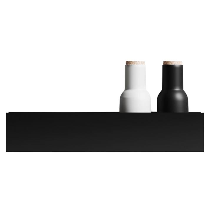 Das Wandregal U40 von Nichba Design in schwarz