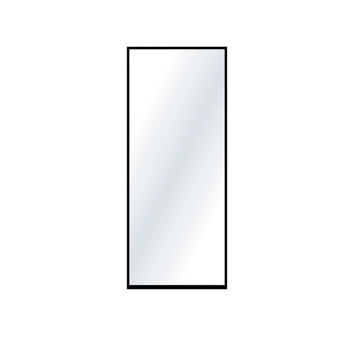 Der große Wandspiegel von Nichba Design in schwarz