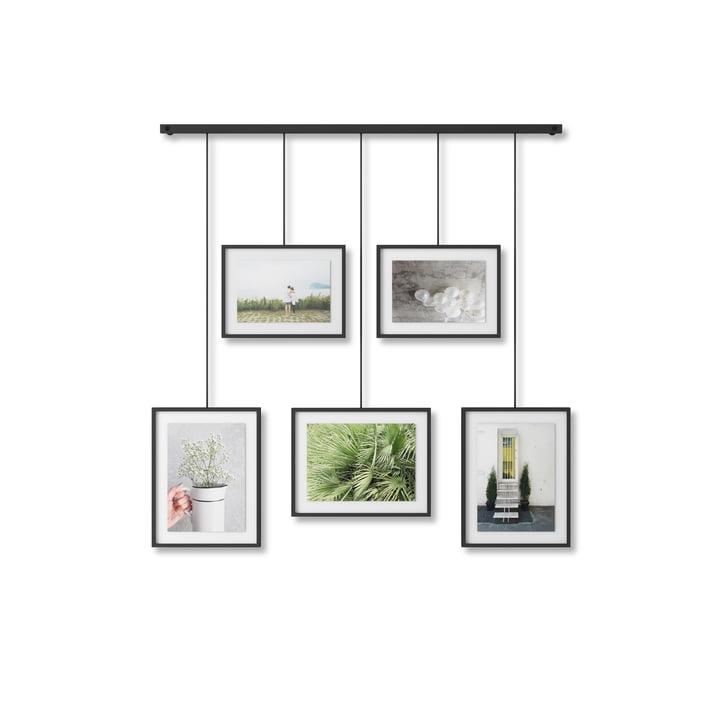 Die Exhibit Bilderrahmen von Umbra in schwarz