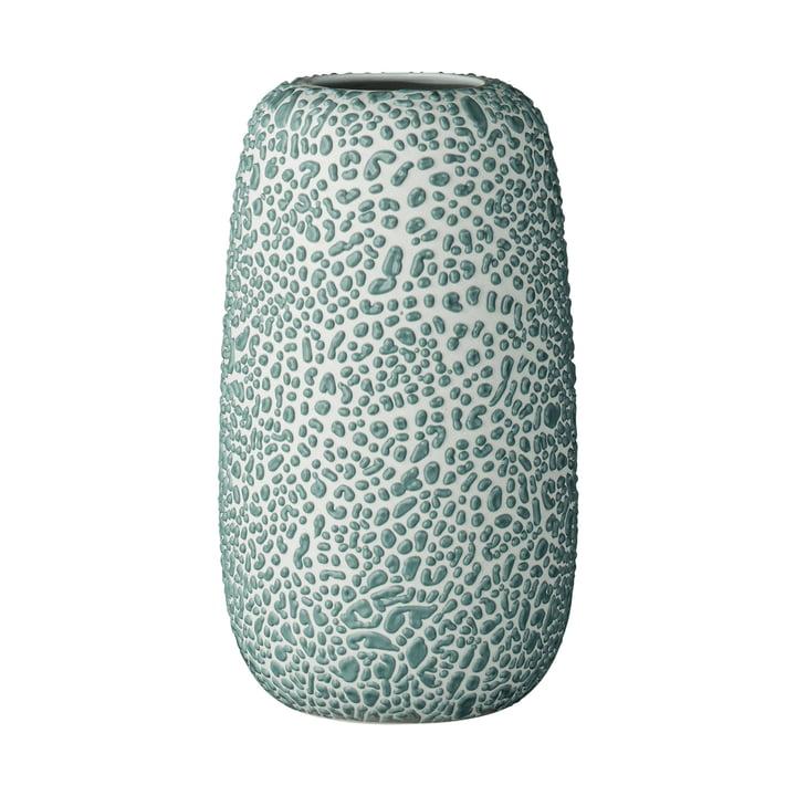 Die Gemma Vase, large, dusty green von AYTM