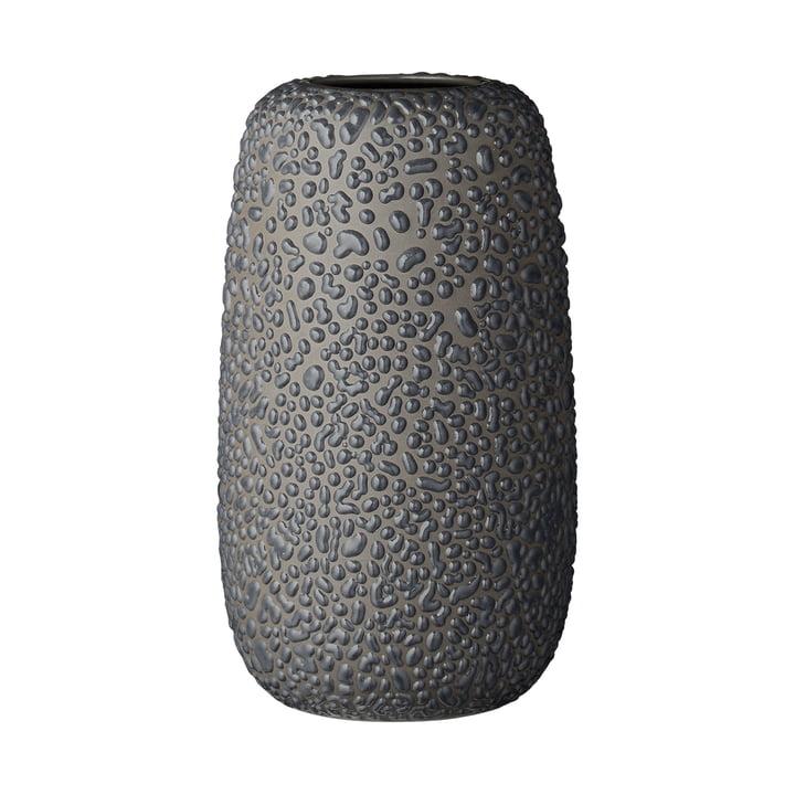 Die Gemma Vase, large, dunkelgrau von AYTM