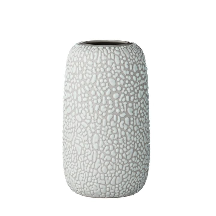 Die Gemma Vase, medium, hellgrau von AYTM