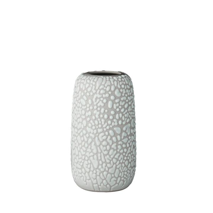 Die Gemma Vase, small, hellgrau von AYTM