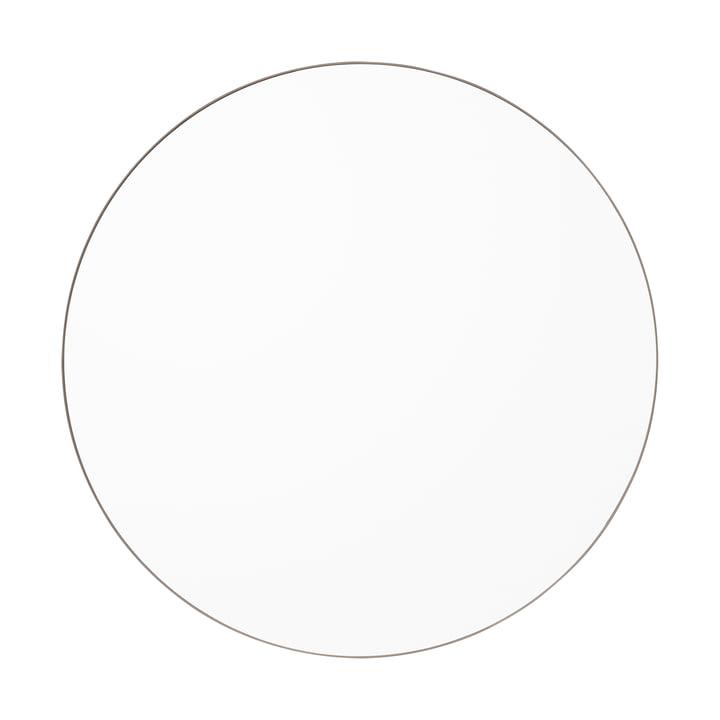 Der Circum Wandspiegel large, Ø 110 cm, klar / taupe von AYTM