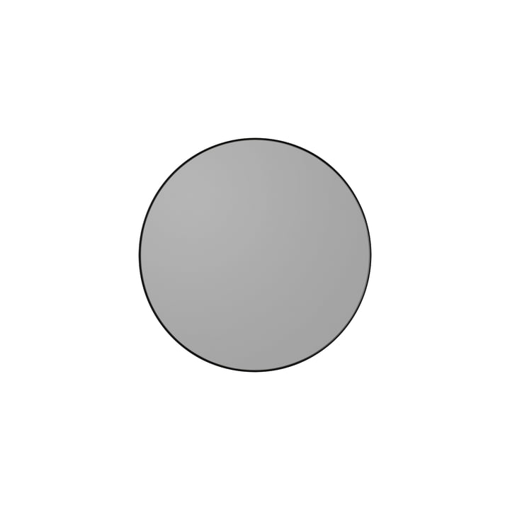 Der Circum Wandspiegel extra small in schwarz von AYTM