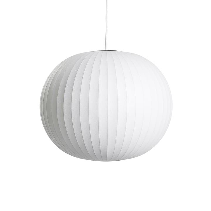 Nelson Ball Bubble Pendelleuchte M, Ø 48.5 x H 39.5 cm, off white von Hay