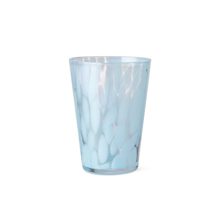 Das Casca Trinkglas von ferm Living in pale blue