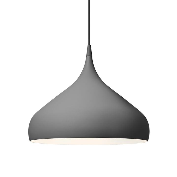 Spinning Pendelleuchte BH2 Ø 40 cm von &tradition in dark matt grey