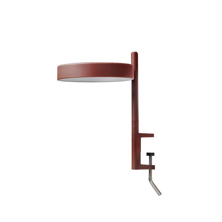 Die w182 Pastille LED Klemmleuchte c1 von Wästberg in oxidrot