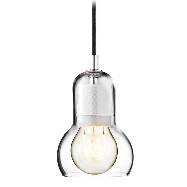 &Tradition - Bulb Pendelleuchte, SR1, klar, Stromkabel schwarz