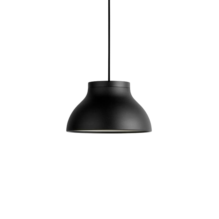 PC Pendelleuchte S, Ø 25 x H 14.5 cm, soft black von Hay