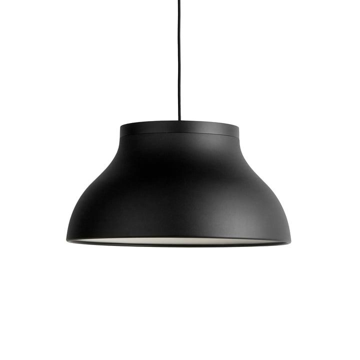 PC Pendelleuchte M, Ø 40 x H 20.5 cm, soft black von Hay